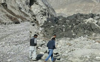 ہنزہ: گلیشر کے پھیلاو سے حسن آباد نالے میںپانی کا بہاو رُک گیا، بجلی کی پیداوار متاثر
