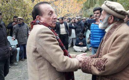 کریم آباد کے عمائدین اور اکابرین کی سابق گورنر میر غضنفر سے ملاقات، رائل اکیڈمی کی خالی عمارت کی حوالگی کا مطالبہ