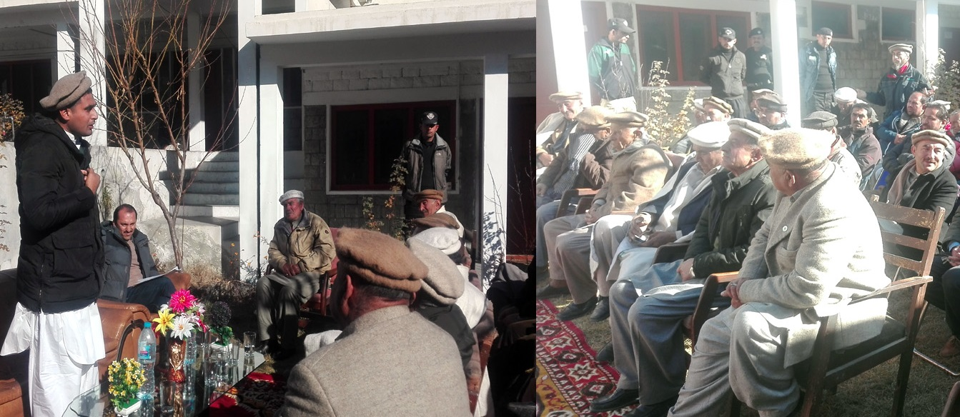 ہنزہ پولیس نے عوامی مسائل معلوم کرنے کے لئے کھلی کچہری کا انعقاد کیا