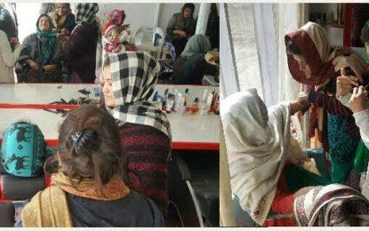 ہنزہ، ناصر آباد میں 40 خواتین کے لئیےبیوٹیشن ٹریننگ کا آغاز