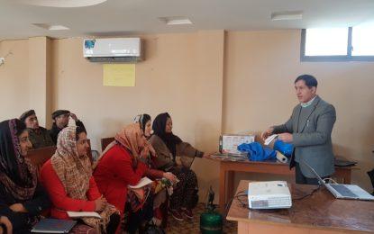 گلگت بلتستان میں آغا خان ہائیر سیکنڈری سکولوں کےاساتذہ کے لئے پیشہ وارانہ تربیتی پروگام کا انعقاد