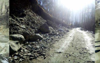 مرکزی ہنزہ میں رابطہ سڑکیں ٹھیکیداروں کی عدم توجہ کی وجہ سے کھنڈرات میں تبدیل