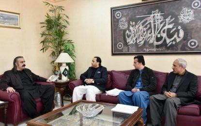 وزیر اعلی گلگت بلتستان نے وزیر امور کشمیر کو سپریم کورٹ فیصلہ پر تحفضات سے آگاہ کیا
