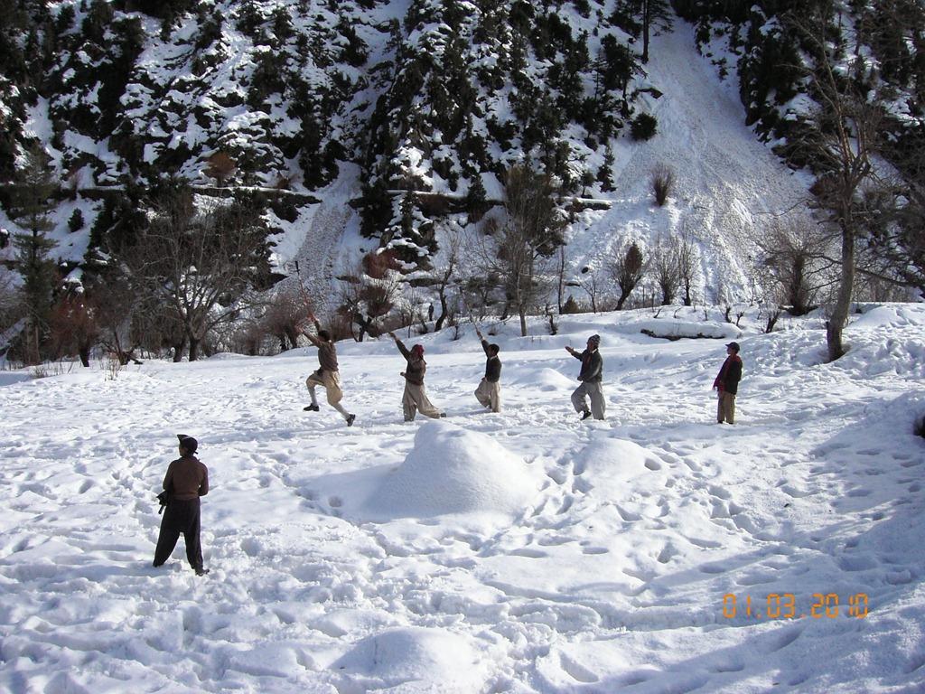 چترال: وادی کیلاش کے نزدیکی علاقے میں برفانی تودے تلے دبے چھ افراد کو زندہ نکال لیا گیا، دو زحمی