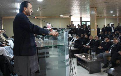گلگت بلتستان میں علیحدیگی کی نہیں بلکہ پاکستان کے آئین میں شامل ہونے کی تحریک ہے، وزیر اعلی گلگت بلتستان حافظ حفیظ الرحمن