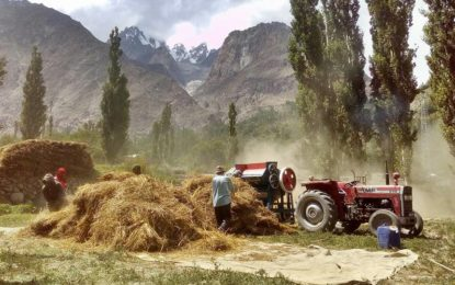 ہنزہ: محکمہ ایکسائز اینڈ ٹیکسیشن نے زرعی و دیگر مشینری کے نرخوں میں 10فیصداضافہ کا نوٹیفیکشن جاری کر دیا