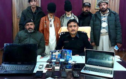 گلگت پولیس نے ڈکیتی میں ملوث ملزمان کو چوبیس گھنٹوں کے اندر گرفتار کر لیا