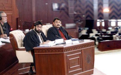 صوبائی اسمبلی اجلاس: سانحہ اشکومن کی شدیدالفاظ میں مذمت، اسپیکرنے وزیر قانون کو کل رپورٹ پیش کرنے کی ہدایت کردی
