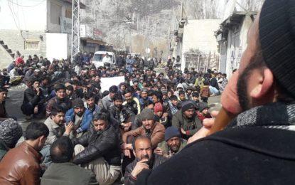کھرمنگ: مہدی آباد میں پانی کی عدم فراہمی کے خلاف احتجاج، کارگل روڈ کئی گھنٹے بند رکھا