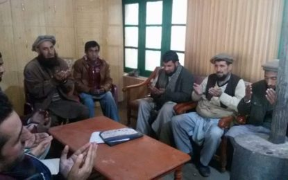 دیامر: راجہ حسین خان مقپون کی صحافتی میدان میں خدمات کو خراج تحسین پیش کیا گیا