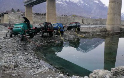 گلگت میں پانی کی آلودگی کا مسئلہ