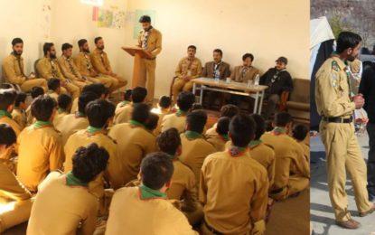 اسماعیلی بوائز سکاوٹس ایسوسی ایشن کے زیر اہتمام سلطان آباد دنیور میں ہمدم بیج تربیتی پروگرام کا انعقاد