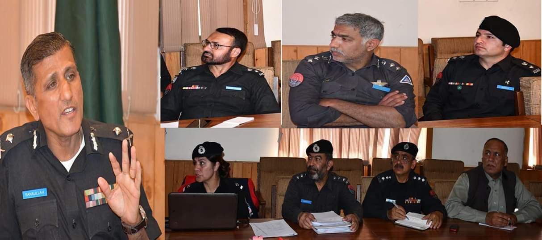 گلگت بلتستان پولیس پاکستان کے دیگر شہروںکے لئے مثال ہے، آئی جی ثنا اللہ عباسی