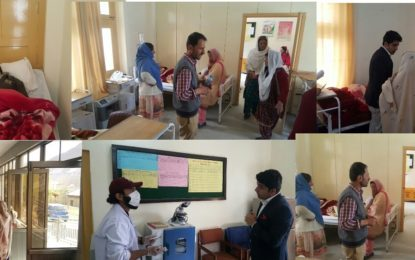ہنزہ:سرکاری ہسپتالوںمیں تین ماہ کے دوران 21 ہزار سے زائد افراد کا علاج ہوا، 3 ہزار افراد لیبارٹریز سے مستفید ہوے:ڈاکٹر ضعیم ضیا