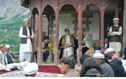 محکمہ سیاحت کے تعاون سے کریم آباد ہنزہ میں قدیم تہوار گنانی جوش وخروش سے منایا گیا