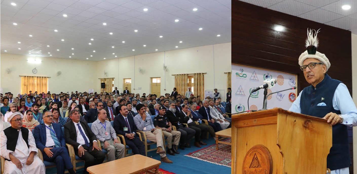 سیاحوں کو مقامی روایات کا خیال رکھنا چاہیے، ڈاکٹر عارف علوی، صدر مملکت، کا ہنزہ میں کانفرنس سے خطاب