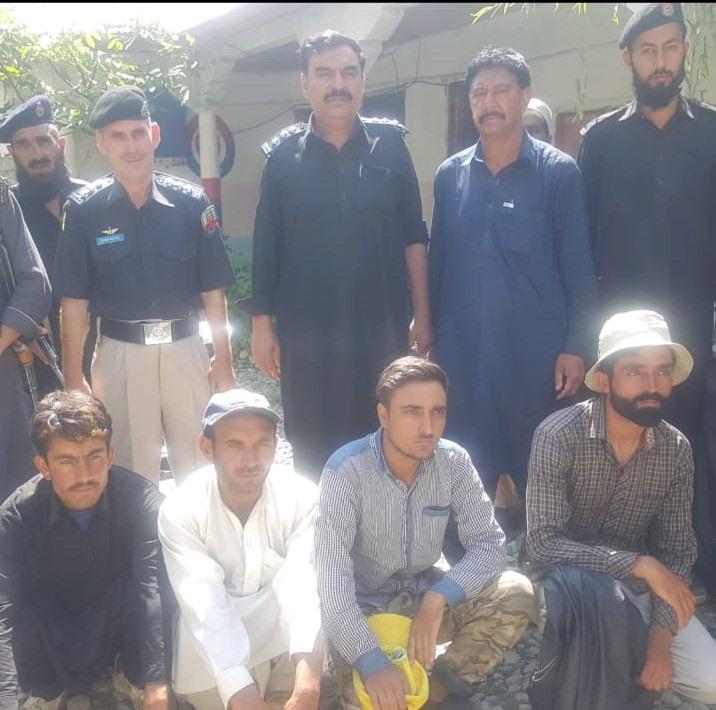 کوہستان پولیس کی طرف سے بازیاب شدہ افراد پر جھوٹا مقدمہ درج کرنے کےخلاف علاقے میںاشتعال، گاہکوچ میں احتجاج ہوگا