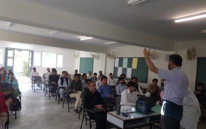 آغا خان ایجوکیشن سروس چترال کے زیر اہتمام منعقدہ اساتذہ کے لئے تربیتی پروگرام کی اختتامی تقریب