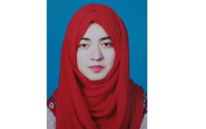 ضلع استور کے گاوںہرچو سے تعلق رکھنے والی ہونہار طالبہ کا اعزاز