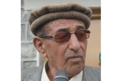 نامور سماجی رہنما غلام رسول بیگ علی آباد ہنزہ میںانتقال کر گئے