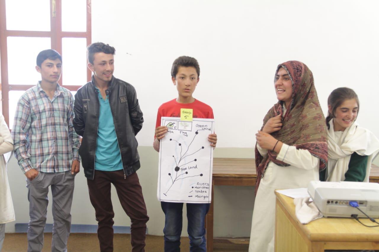 یاسین: اڑان سمر ایجوکیشنل اینڈ ڈومیسٹک وائلنس کے عنوان سے تین روزہ کیمپ کا انعقاد
