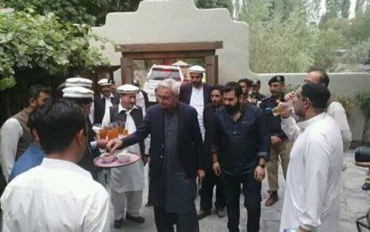 یارقند تا شگر روڑ کھولا جائے، راجہ اعظم خان کا جہانگیر ترین سے مطالبہ