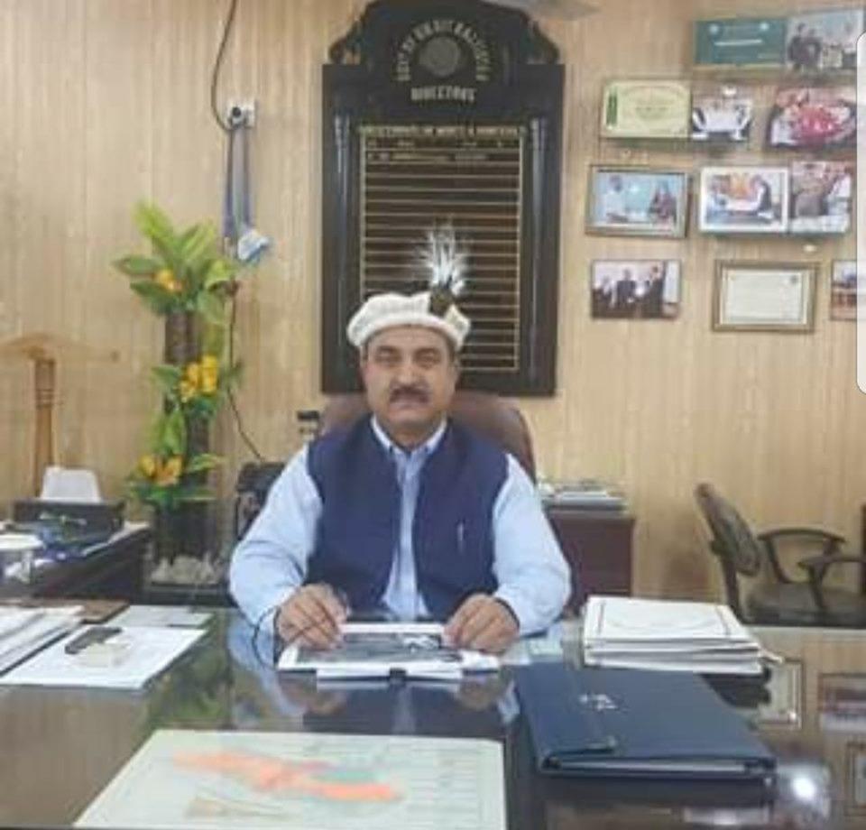 ڈائریکٹر منرل گلگت بلتستان انور علی استور میں سپرد خاک