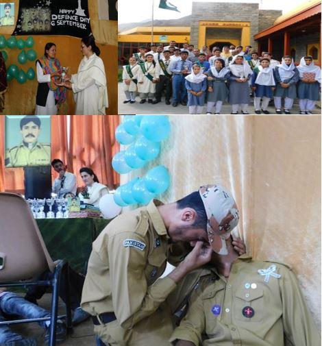 آغا خان ہائیر سیکنڈری سکول شیر قلعہ میں یوم دفاع کی تقریبات گورنمنٹ اور پرائیوٹ کی شرکت