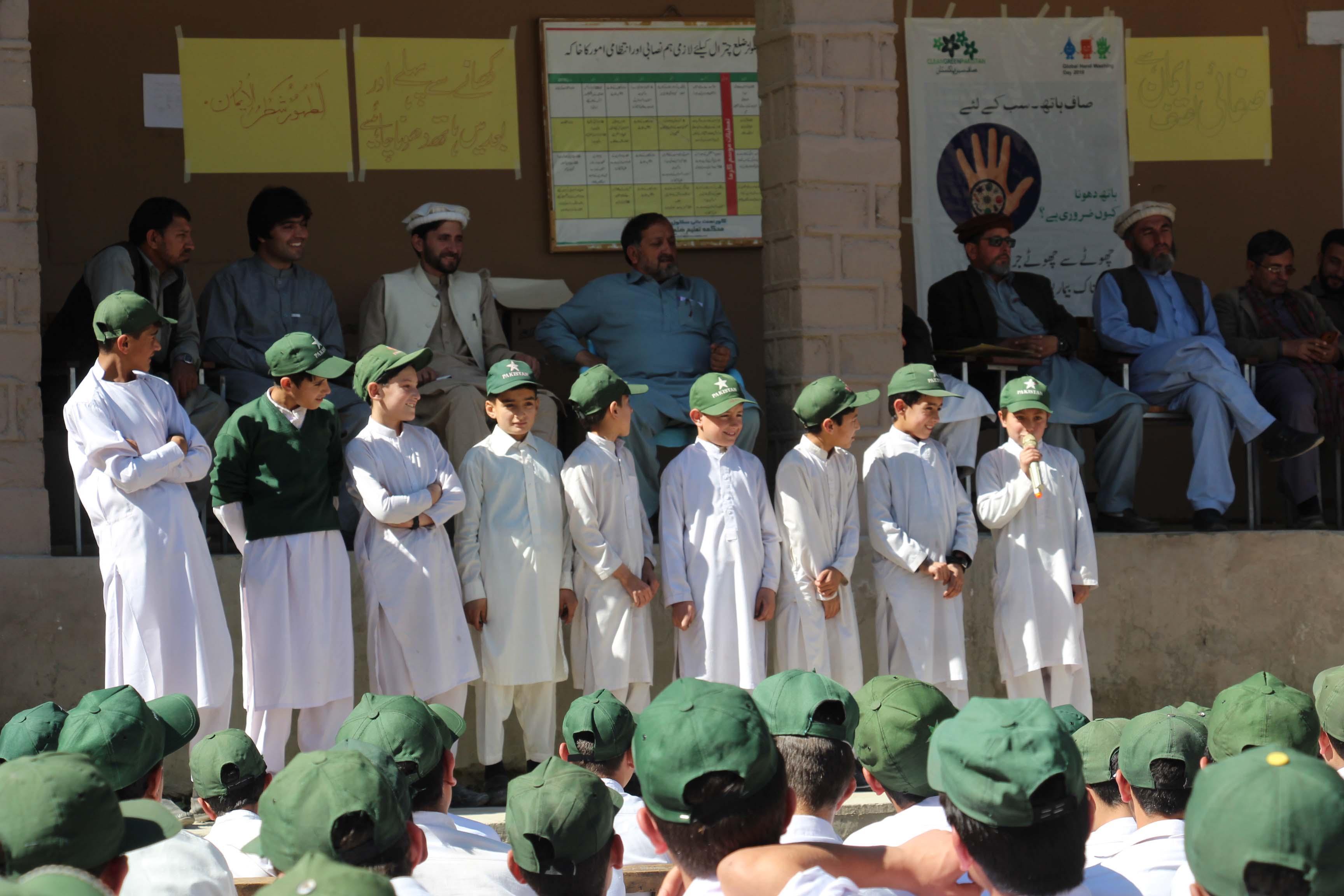 چترال میں بھی ہاتھ دھونے کا عالمی دن منایا گیا، بچوں میں صابن تقسیم
