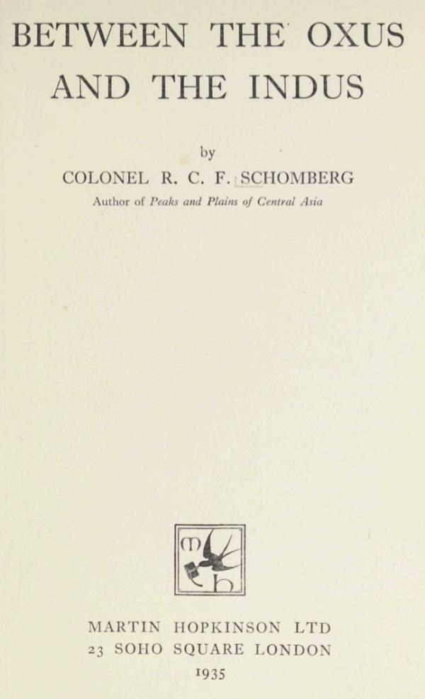 تاریخ یاسین، کرنل شمبرگ کی نظر میں