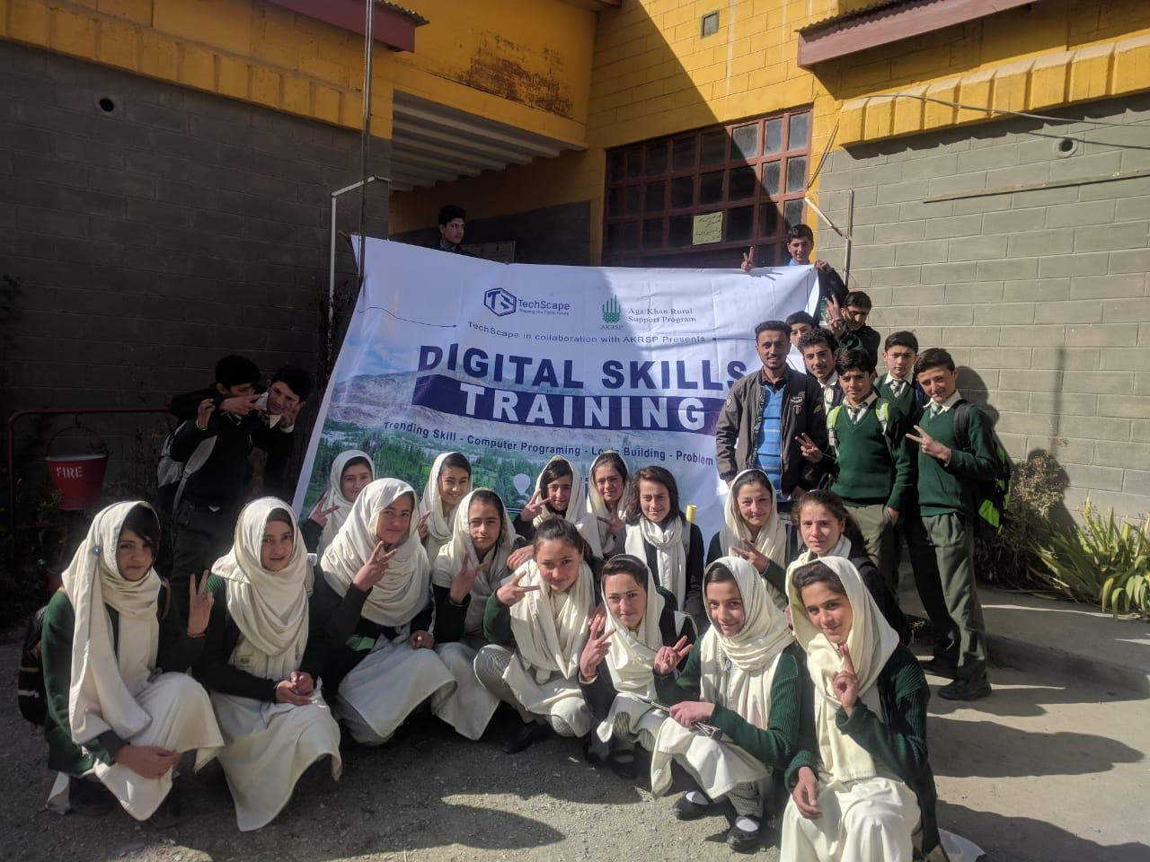 ڈی جے ہائی سکول ہُندر یاسین میں15 روزہ ڈیجیٹل سکلز بوٹ کیمپت کا انعقاد، 40 طلبا نے حصہ لیا