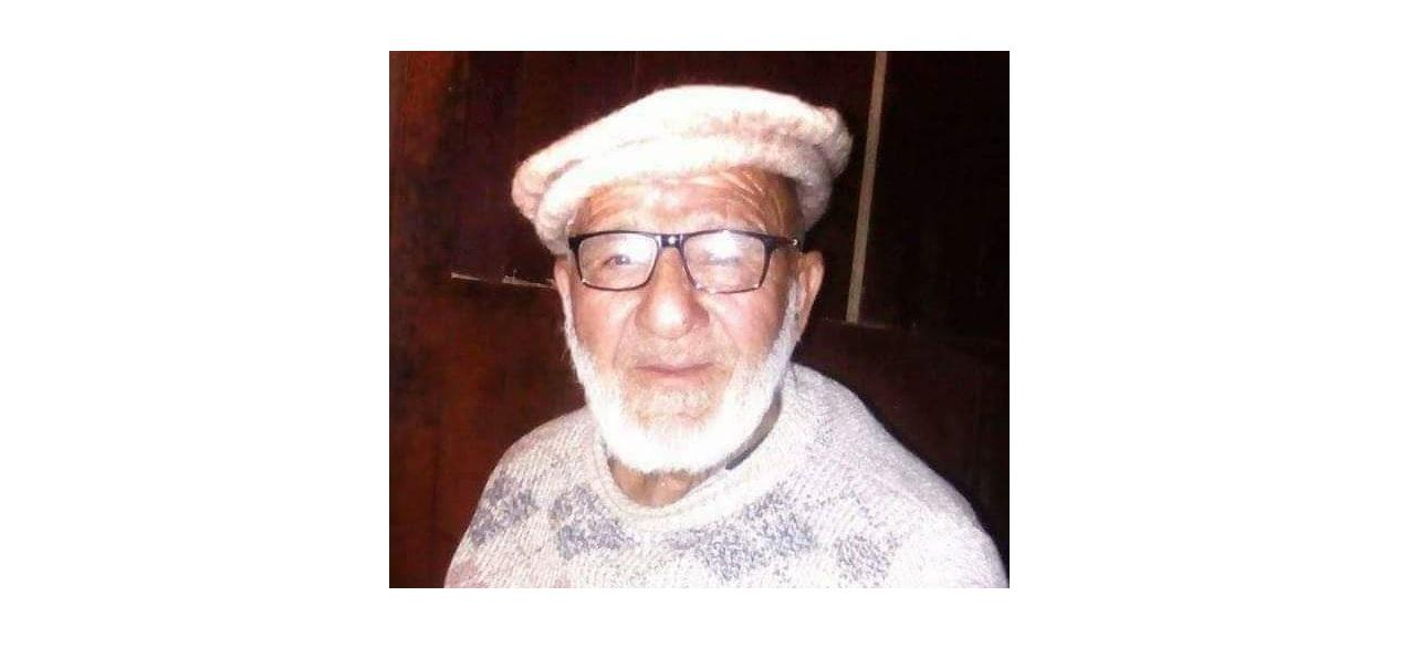 ہنزہ:گنش سے تعلق سے رکھنے والی سماجی شخصیت حوالدار علی مدد انتقال کر گئے