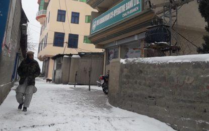 ضلع نگر کے مختلف علاقوں میں برفباری کے ریکارڈ ٹوٹ گئے، چھلت ٹاون میں 8 انچ برفباری سے عوام حیران
