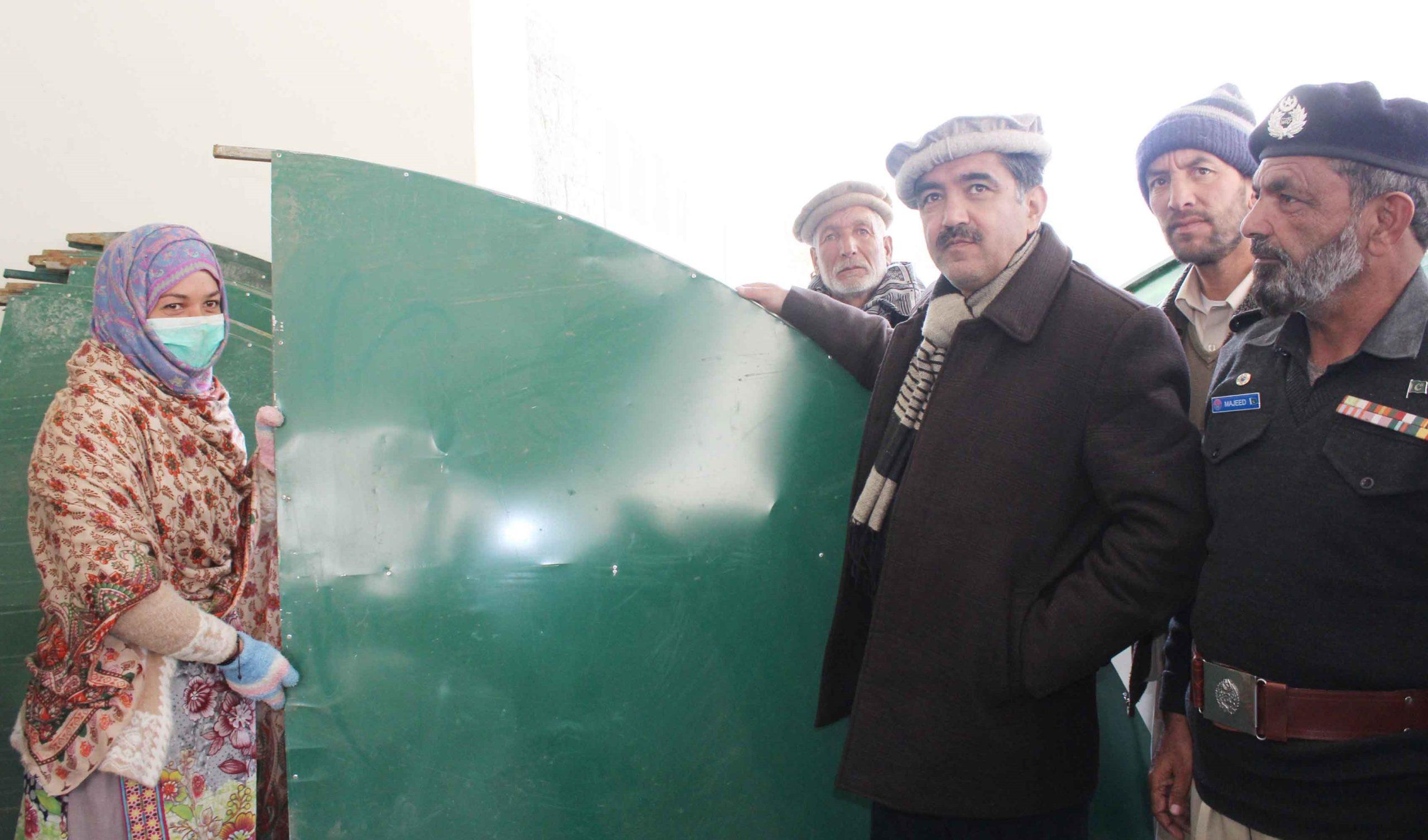 شگر:محکمہ زراعت کے زیر اہتمام 20 کسانوںمیں پلاسٹک ٹنلز تقسیم