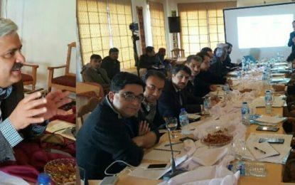 گلگت بلتستان میں غذائیت سے متعلق اعدادوشمار پر تشویش ہے، چیف سیکریٹری