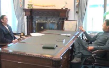 وزیر اعظم نے گلگت بلتستان کے لئے ایر ایمبولینس دینے، سکردو مین کورونا ٹیسٹنگ مرکز کے قیام  کا اعلان کردیا