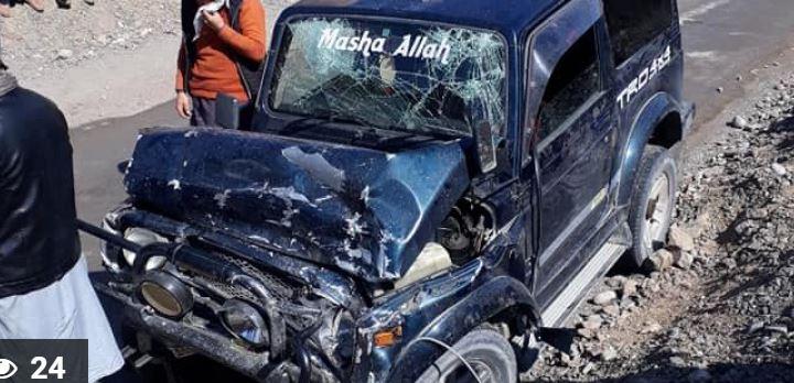 اپر چترال میں سڑک کا المناک حادثہ۔ خاتون اور ڈرائیور سمیت چار افراد جاں بحق دو زحمی