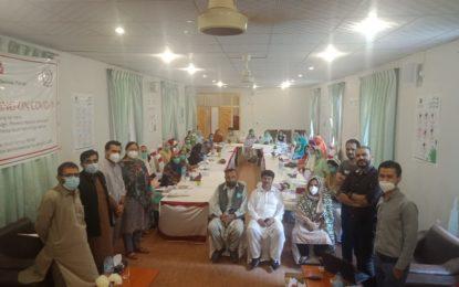 آغا خان ہیلتھ سروس کے زیر اہتمام گوپس میں دو روزہ تربیتی ورکشاپ کا انعقاد