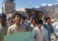 واپڈا سے جاری کردہ اشتہار آسامی کی منسوخی تک احتجاجی سلسلہ جاری رہے گا، چلاس میں مظاہرین کا خطاب