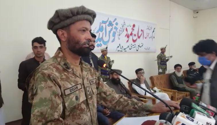 چلاس:    فورس کمانڈر جنرل احسان محمود خان کے اعزاز میں الوداعی تقریب کا انعقاد