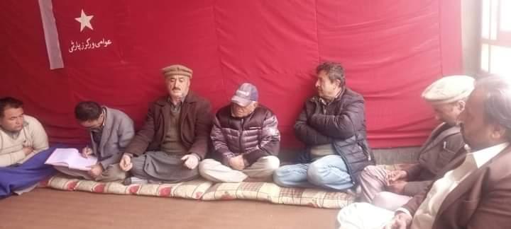 اقوام متحدہ کی قراردادوں کے مطابق گلگت بلتستان میںمقامی با اختیارحکومت کا قیام عمل میںلایا جائے، عوامی ورکرز پارٹی کا مطالبہ